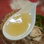 麺画廊 英 - スープ