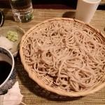 酒縁蕎亭 渉の盃 - 「二八蕎麦(埼玉県産全蕎麦粒粉使用)」