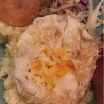和温 - 火が通り切った卵入りポテトサラダ
