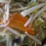 キッチンあべ - 固焼きそば(アップ)