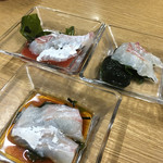 71665946 - 加太の真鯛の刺身(900円)