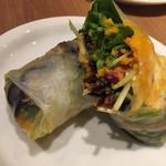 コウソカフェ ビオライズ - 野菜の生春巻き