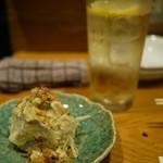 ばりき屋 - サワー&ポテサラで乾杯♡