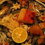 71666869 - 焼き物:金目鯛と鱧