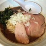 71666927 - 煮干濃麺HV(八戸青口/岩手鯵他)