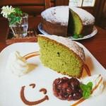 ログ - 今週のケーキの例です。