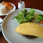 ログ - 橋本市の名物、卵を使った「はしもとオムレツ:ふわとろオムレツハンバーグ」をご提供中!この土地の味をお楽しみ下さい。