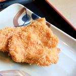 さぬき麺市場 郷東店 - チキンカツ