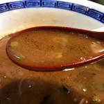 拉麺 空海 - 辛味ダレで こんなスープに