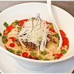 らーめん子うさぎ - 冷やし担々麺 1000円 辛さは無くとも旨味とコクで勝負!これもまた担々麺の一つの形かと。