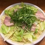 広島つけ麺かず - つけ麺大盛り