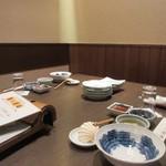 大福 - この日は此方でロータリークラブの会合があったのでお座敷を使って夕食をいただきました。              料金は飲み放題も入れて6000円でした。