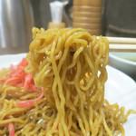 ラーメンKiRiちゃん - 硬めの縮れ麺が美味い