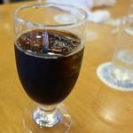 津山鶴山ホテル - アイスコーヒー