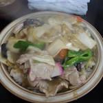 キッチンあべ - 中華丼(大盛)