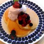 ハナミズキカフェ - 森のパンケーキ