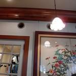 ティールーム 霧笛 - 店内の一部