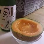 日本酒バー オール・ザット・ジャズ - メロン酒