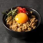 ボローニャ・吉虎 - ピリ辛コチュジャンの鶏そぼろ丼