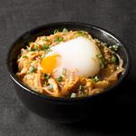 ボローニャ・吉虎 - 豚キムチ&春雨チャプチェのスタミナ丼