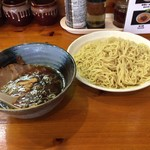 71682329 - 醤油つけ麺(麺2玉)750円