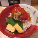 海鮮丼 福貫 - 料理写真:ぜっぴん丼「桜」