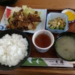 七福お食事処 - 焼肉定食