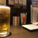 串カツ はな - 生ビール