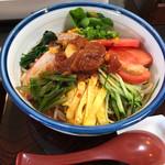 麺の香 たこい - 料理写真:冷やし中華(トマトしょうゆ)880円