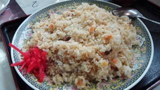 菊正食堂 - チャーハンアップ