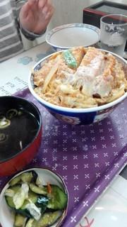 菊正食堂 - カツ丼