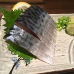 71691162 - 八戸産のしめ鯖。新鮮かつ脂のノリが最高でした。