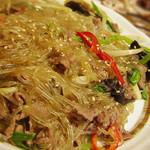 辰家 - チャプチェ(韓国春雨の炒め物)