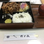 乃ざ喜 - 牛すき焼き弁当