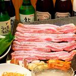 辰家 - サムギョプサル(豚三枚肉の焼肉)