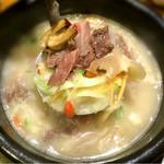 辰家 - コラーゲンクッパ(牛アキレス腱と牛筋の煮込み)