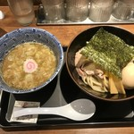 舎鈴 - 2017.08 味玉つけめん 730円