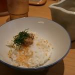 うまい麺には福来たる - 鯛そぼろ茶漬け