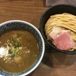 71696844 - 極濃煮干しつけ麺(中盛り)