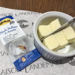 """71696875 - 「発酵バター""""レスキュール""""(300円)」、と「有機ハチミツ(120円)」✨"""