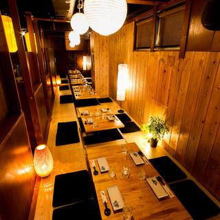新宿エリア最大規模の宴会場も完備しております!