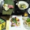 白船荘 新宅旅館 - 料理写真:先付、前菜