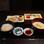 御影蔵 - 酒蔵膳(食事パート)