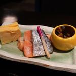 御影蔵 - 鮭の粕漬け焼きアップ