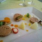 717163 - マリネとパテの前菜