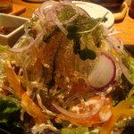ちゅら海の台所 花花 - 美ら海サラダ(750円)