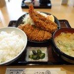 ぼんち - 料理写真:海老盛り定食