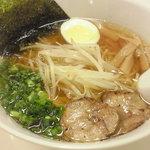 麺家五ヱ門 - 醤油ニンニクラーメン