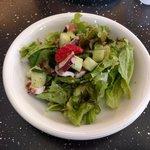 アルチザン パレ ドオール - セットのサラダ