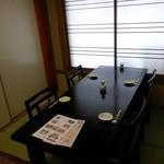 さかえ寿司 - 2階の半個室